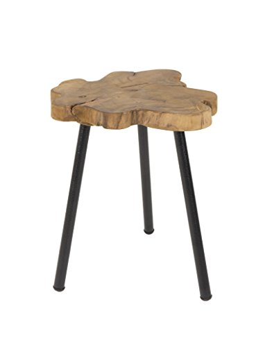 Zuiver Side Table Treetop, Teck, 35x35x45 cm