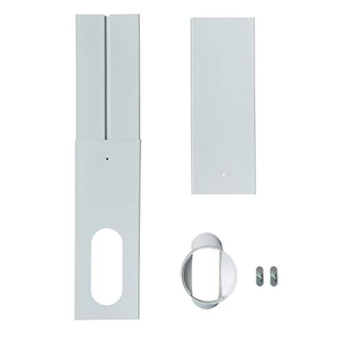 tBesme Window Seal | Portable AC Replacement Window PVC Seal Bracket | Multipurpose Window Vent, Suitable for Portable Air Conditioner with 5.1'/13cm AC Air Conditioner Diameter Hoses