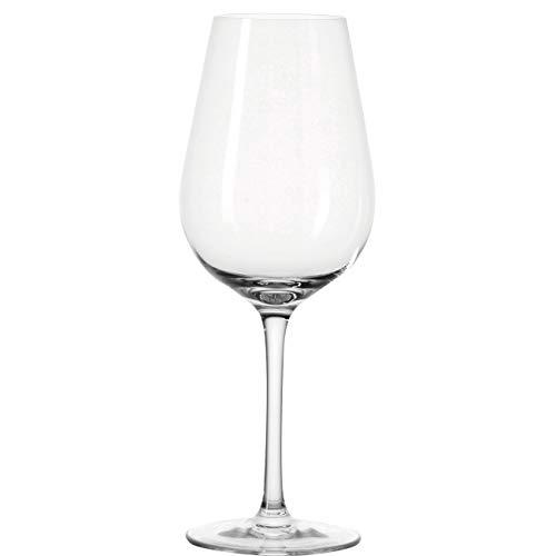 Leonardo Tivoli Weißwein-Glas, Weißwein-Kelch mit gezogenem Stiel, spülmaschinenfeste Wein-Gläser, 6er Set, 450 ml, 020963