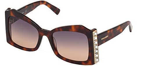 DSQUARED2 Gafas de sol DQ0357 Gafas de sol 52F Mujer color Marrón havana medida de la lente 56 mm
