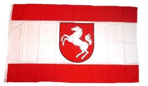 Fanshop Lünen Fahne - Flagge - Hißfahne - Westfalen - 90x150 cm - Hissfahne -
