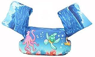 KAKAF Simvingar flytväst småbarn flythjälp 10–25 kg simbälte flytväst flyttränare med säkerhetslås för barn och småbarn 2–...