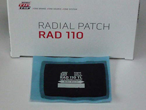 Tip Top RAD 110 TL Reparaturpflaster 20 Stück, Radialpflaster, Reifenreparatur 512110