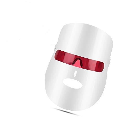 Mascarilla LED, terapia de fotones LED de 7 colores, mascarilla para el tratamiento del acné, terapia de rejuvenecimiento de la piel, estiramiento de la piel, tratamiento de luz de spa de belleza