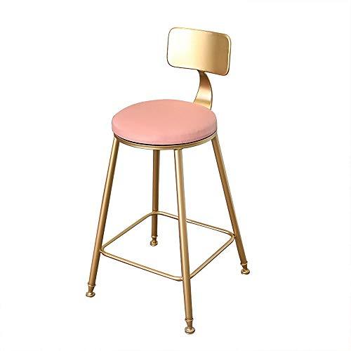 FYMDHB886 Eetstoel Ijzer goud barkruk Dressoir Nagelkruk Onderhandelingsstoel Bankstel Koffiestoel Massief houten stoel Vergaderstoel, Size, A