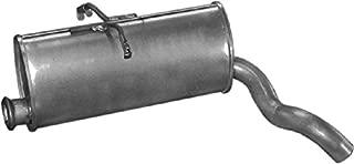 Silencieux DInsertion de Silencieux DB Killer 45Mm X 80Mm Moligh doll Silencieux D/éChappement de Moto en Argent