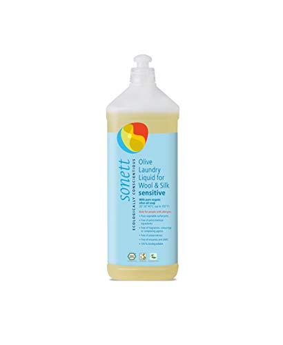 Sonett Organic Olive Laundry for Wool and Silk for Sensitive Skin (34 oz)