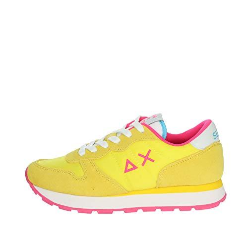 sneakers donna sun68 Sun 68 Sneakers Donna Modello Ally Solid Colore Giallo (Numeric_38)