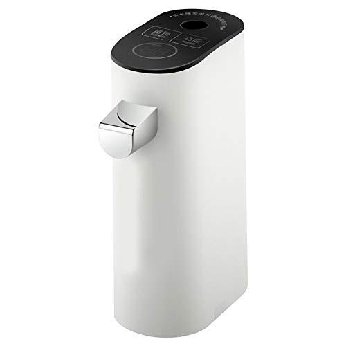 BTSSA Mini heißwasserspender,Tragbar Schnelle Hitze Wasserkocher,Eingebaute Wasserpumpe zum direkten Anschluss an Mineralwasser,B