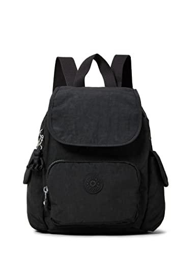 Kipling City Pack Mini, Backpacks Donna, Nero Noir, 14x27x29 cm