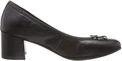 Tamaris Damen 22305 Pumps, Schwarz (Black Leather), 37 EU