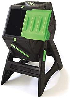 UPP Compostador de barril de 70L para jardín o balcón I compostador térmico, ventilación interna, acelera el compostaje, abono orgánico