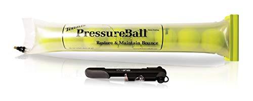 Pressure Ball Presurizador de Pelotas de Padel y Tenis - Alarga la Vida de Las Bolas, conserva y recupera la presion de Las Pelotas de Padel a 14psi con Este Tubo presurizador. con Bomba