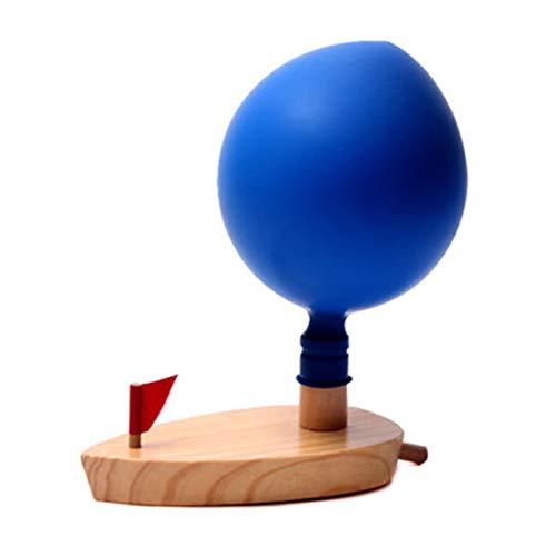Jocelyn Cowper Notable Holz-Ballon-Boot, das Wasser spielt, Lieblingsspielzeug für Kinder – Bild Farbe Bildfarbe