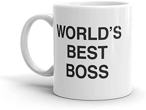 Worlds Best Boss Mug Coffee Mug With Dunder Mifflin,The -World's Best...