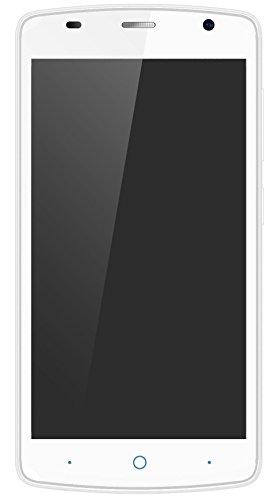 ZTE Blade L5 Plus Smartphone (12,7 cm (5 Zoll) Display, 8 Megapixel Kamera, 8 GB Speicher) Weiß