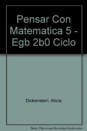Pensar Con Matematica 5 - Egb 2b0 Ciclo
