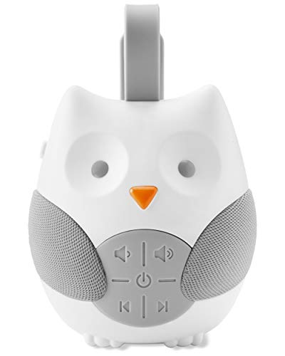 Skip Hop Portable Baby Soother, Stroll & Go, Owl