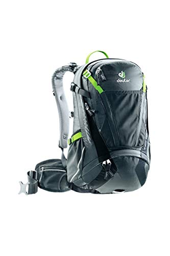 Deuter Unisex Adults' Trans Alpine 24 Rucksack, Grey (Graphite-Black), 50 Centimeters