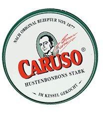 CARUSO HUSTENBONBONS BOX (60 GRAMM) - arrangiert für [Noten / Sheetmusic]