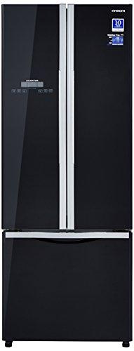 Hitachi 456 L Frost Free Multi-Door Refrigerator(R-WB480PND2, Black, Inverter Compressor)