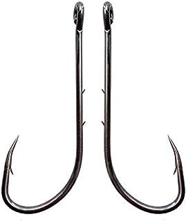 100Pcs//lot Fishing Hooks 2# 4 # 6# 8# 10# Barbed Treble Hooks Lures Baits Holder