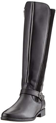 Tamaris Damen 1-1-25534-23 Hohe Stiefel, Schwarz (Black 1), 39 EU