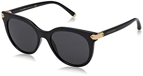 Dolce & Gabbana Damen Sonnenbrille DG6117 Schwarz (Black), 52