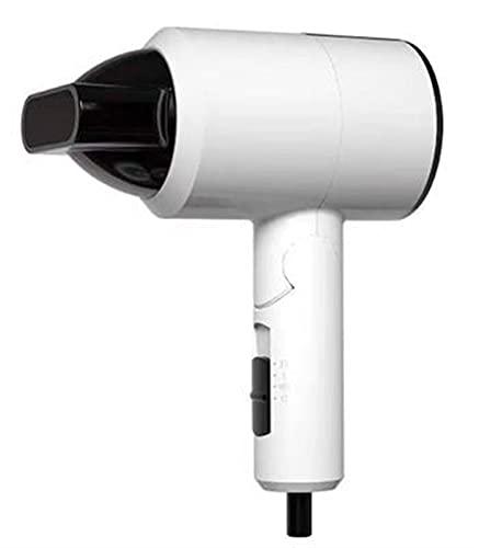Mini secador de pelo plegable con iones negativos 1100 W para viajes y uso doméstico portátil (color: B)