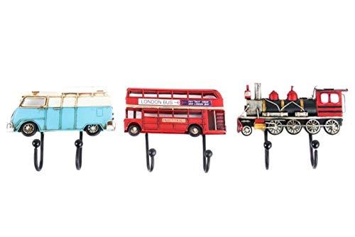 Takestop - Perchero de pared para coche, vintage, autobús,...