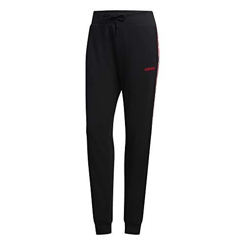 adidas Damen Hose W Farm PT, Negro/Escarl, M, FM6009