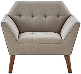 Ink+Ivy Lounge Chair with Light Grey Finish II110-0388