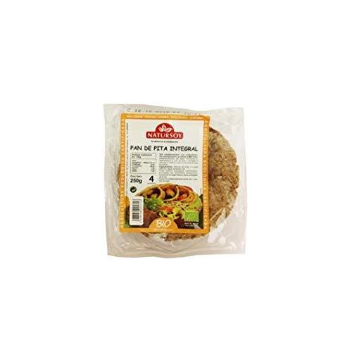 Natursoy - Pan de pita integral Natursoy, 250 g