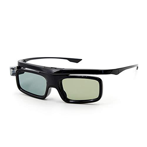 GL1800 Projector 3D Glasses Active Shutter Rechargeable DLP-Link for All 3D DLP Projectors Optama Acer BenQ ViewSonic…