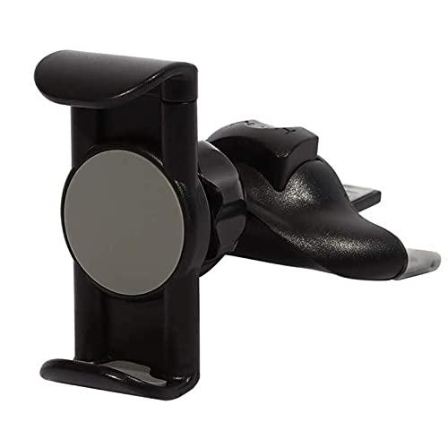 picK-me 2-in-1-Autohalterung für CD-Slot/Lüftungsschlitz, 360 ° drehbar, kompatibel mit iPhone & Android-Handys mit 10,2 - 15,2 cm (4-6 Zoll)