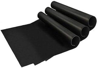 Lot de 3 tapis de barbecue Coninx - Revêtement anti-adhésif en téflon - 33 x 40 cm - Réutilisables - Film de cuisson - Idé...