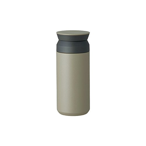Kinto Travel Tumbler - Insulated Bottle Khaki 12oz- Double Walled And Vacuum Insulated, Which Keeps Your Favorite Beverage Hot Or Cold For Hours