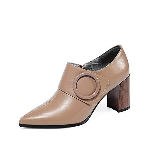 [Kg8d] ブーティ アンクルブーツ 疲れない ブーツ ベージュ レディース 太ヒール ブーティ 歩きやすい靴 おしゃれ 24.5cm ショートブーツ 大きいサイズ チャンキーヒール ショートブーティー ハイヒール OL オフィス