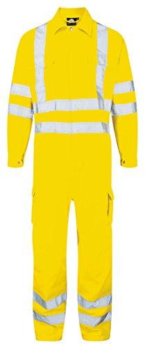 Workwear World Shrike High Visibility - Mono de Trabajo y especificaciones de ferrocarril de Alta Visibilidad