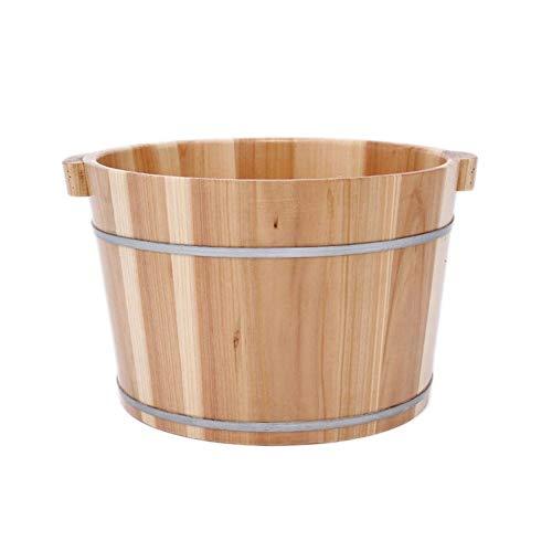 CHY Voet Tub, Houten Voet Basin kuip Emmer Voor Voet Bad, Massage, Spa, Sauna, Soak, Emmer Voet