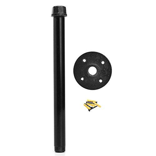EsportsMJJ 1/2 Inch Industriële Pijpbeugel 160/260mm Zware IJzeren Plank Ondersteuning met Flens Pijpen Fittings, 260mm, 1