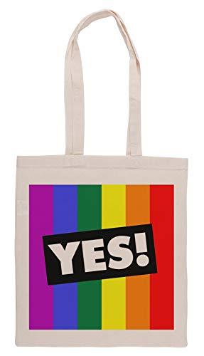 Luxogo Ja! Zu Australisch Ehe Gleichberechtigung Einkaufstasche Groceries Beige Shopping Bag
