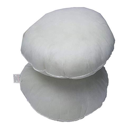 Adam Hollow Fiber Round Sofa Cushion Pad Insert Filler Inner Pack of 1(14' Round)