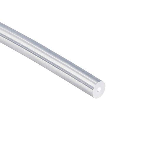 Tubos de silicona 7mm ID x 10mm OD tubo de goma de silicona flexible 16.4ft 5m claro