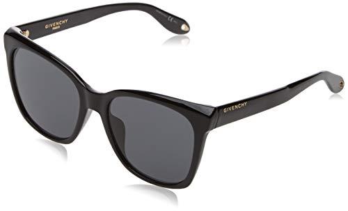 Givenchy Damen GV 7069/S IR 807 55 Sonnenbrille, Schwarz (Black/Grey)