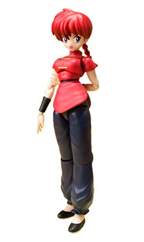 Bandai Tamashii Nations BTN01844-5 - Ranma 1/2 S.H. Figuarts Saotome - Girl Version Actionfigur, 13 cm