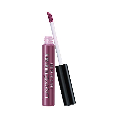Lakmé Forever Matte Liquid Lip Colour, Mauve Fling, 5.6 ml