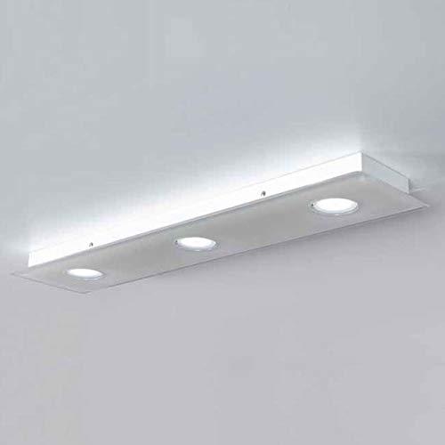 Emporium Domino Plafón L 90 cm H 5 cm 3 luces
