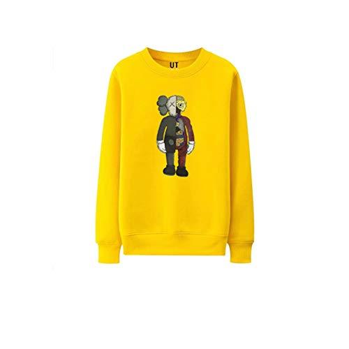 onder Nieuwe Sesame Street Sweater Ronde hals Paar Losse Casual Herfst Winter Onderhemd Heren Hoodie Vrouwen Hoody