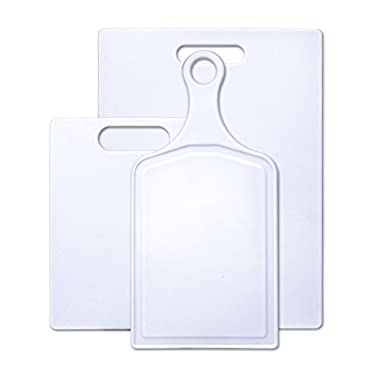 Farberware 3-Piece Plastic Cutting Board Set, Assorted Sizes